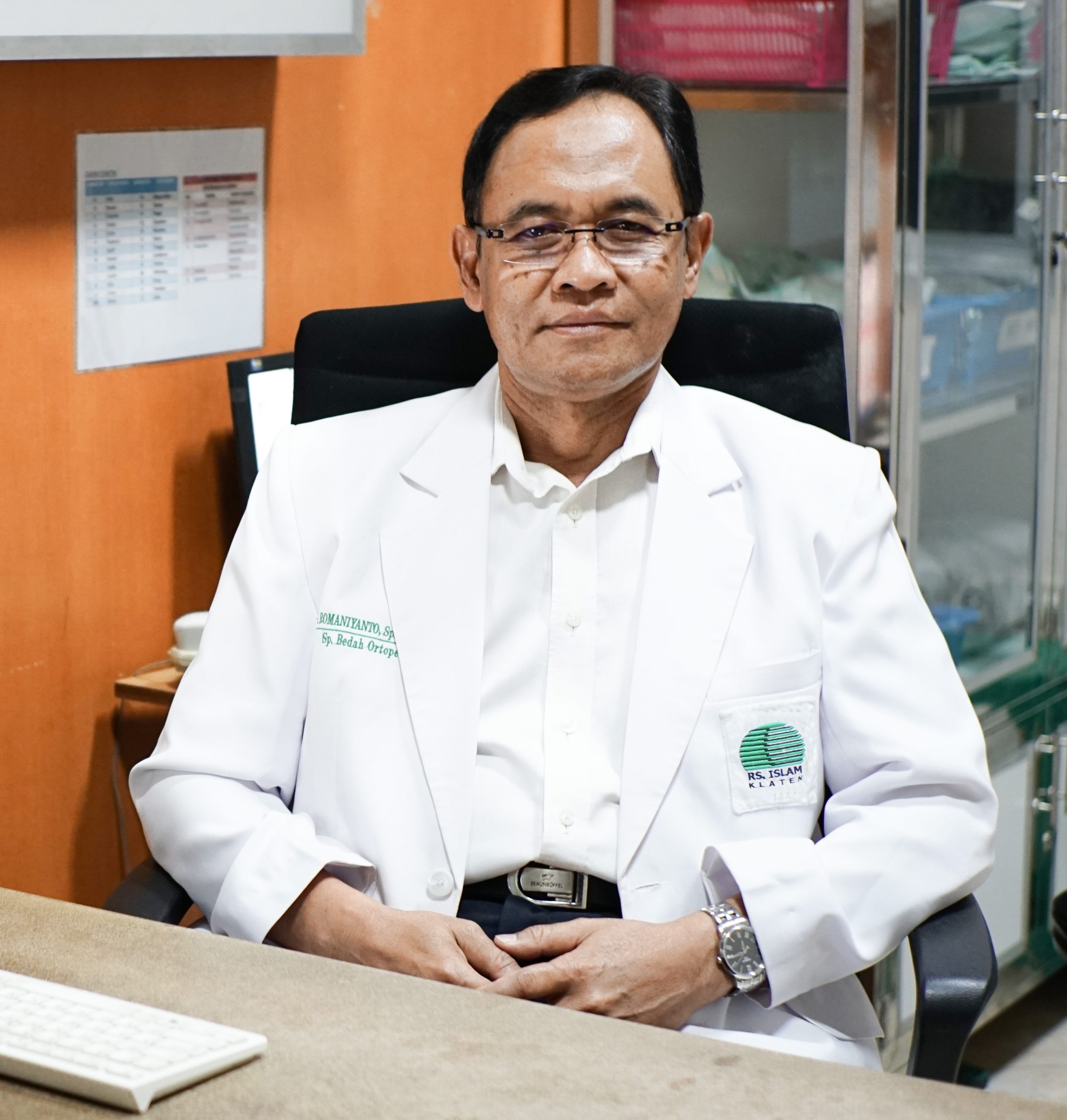 dr. H. Romaniyanto, Sp. BO, Spine (K)